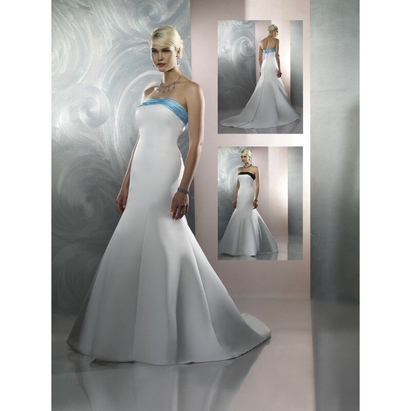Blue and white wedding dresses photo 8 browse pictures for Lilac and white wedding dress