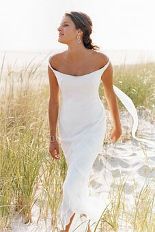 Casual beach wedding dresses Photo - 12