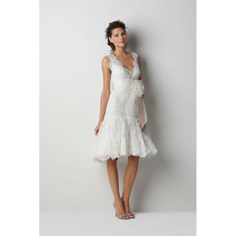 Short beach wedding dresses Photo - 8