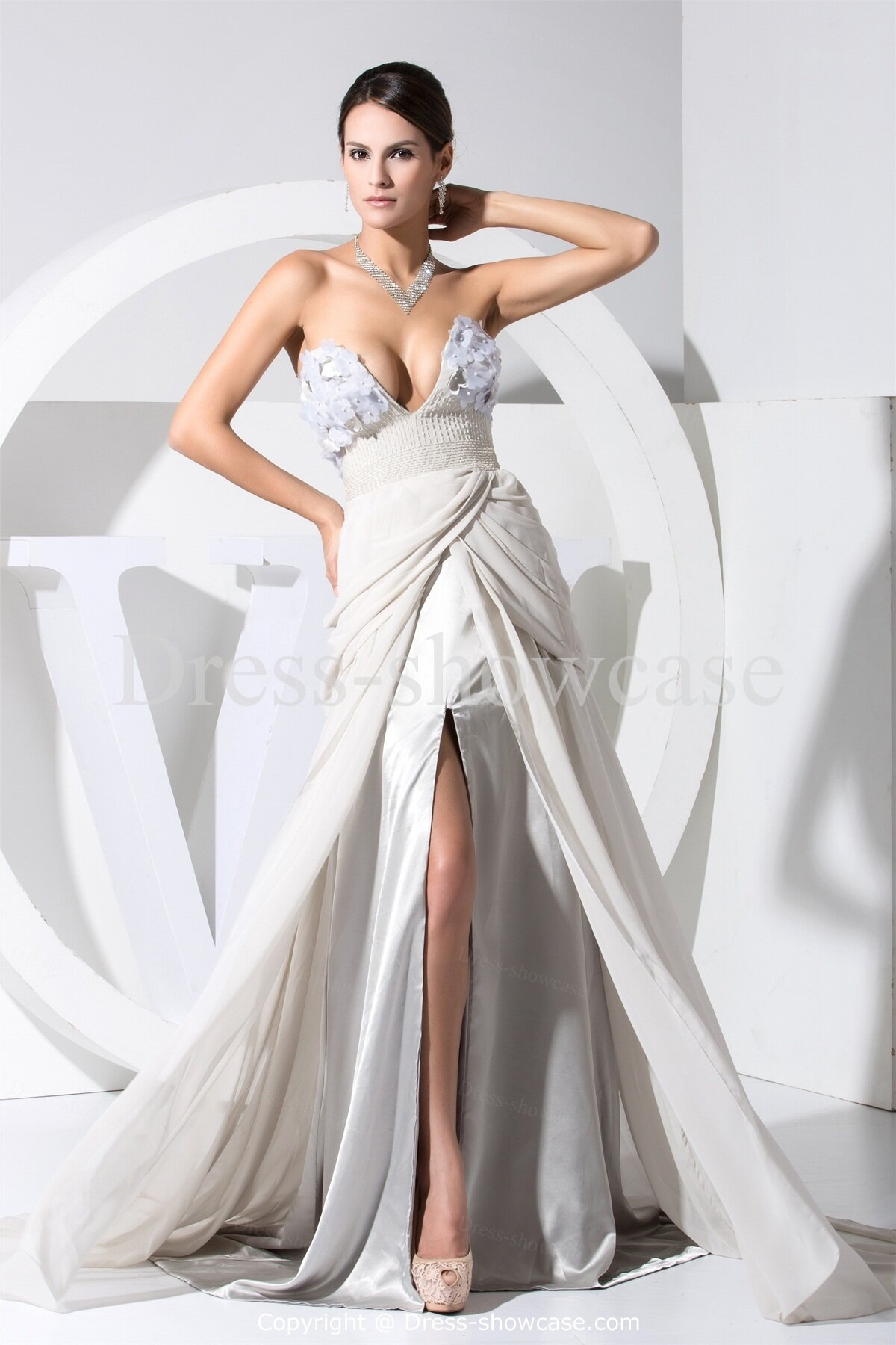 Silver Dress Unique Order For Every Occasion Pictures