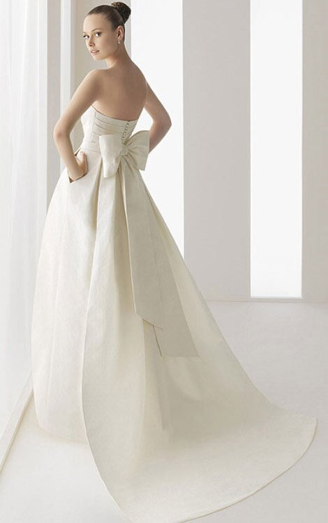 Wedding dress with pockets Photo - 3