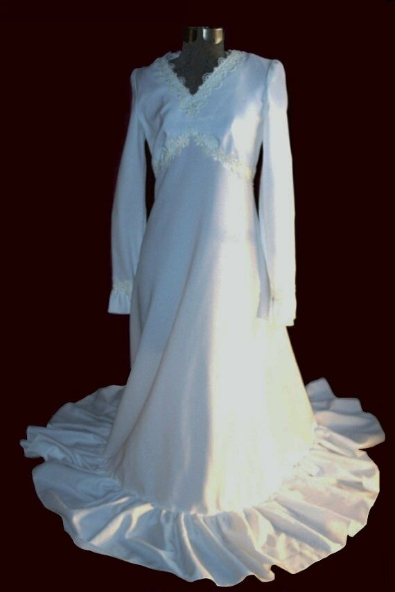 70s wedding dresses Photo - 5