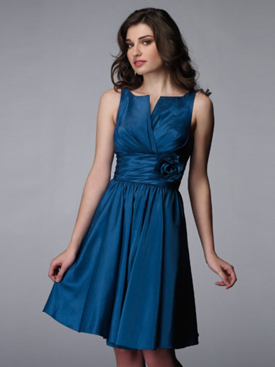 A line dresses for wedding guests Photo - 3