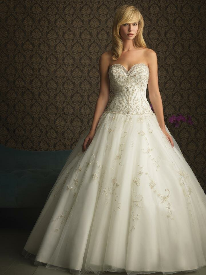 A line short wedding dresses Photo - 9