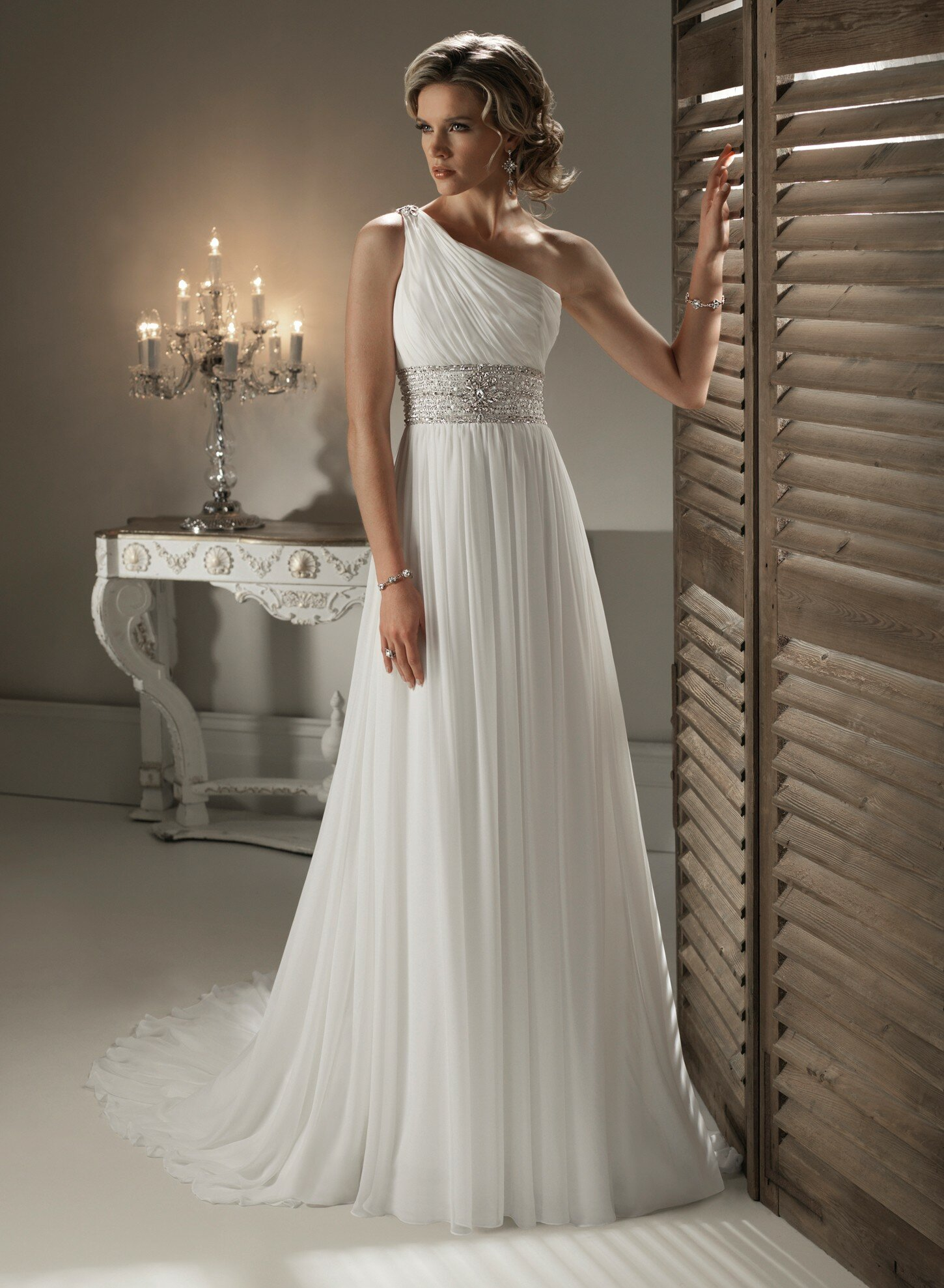 A line short wedding dresses Photo - 4