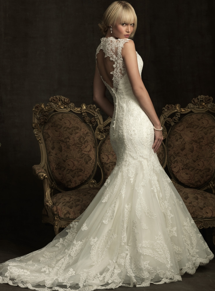 A line short wedding dresses Photo - 6