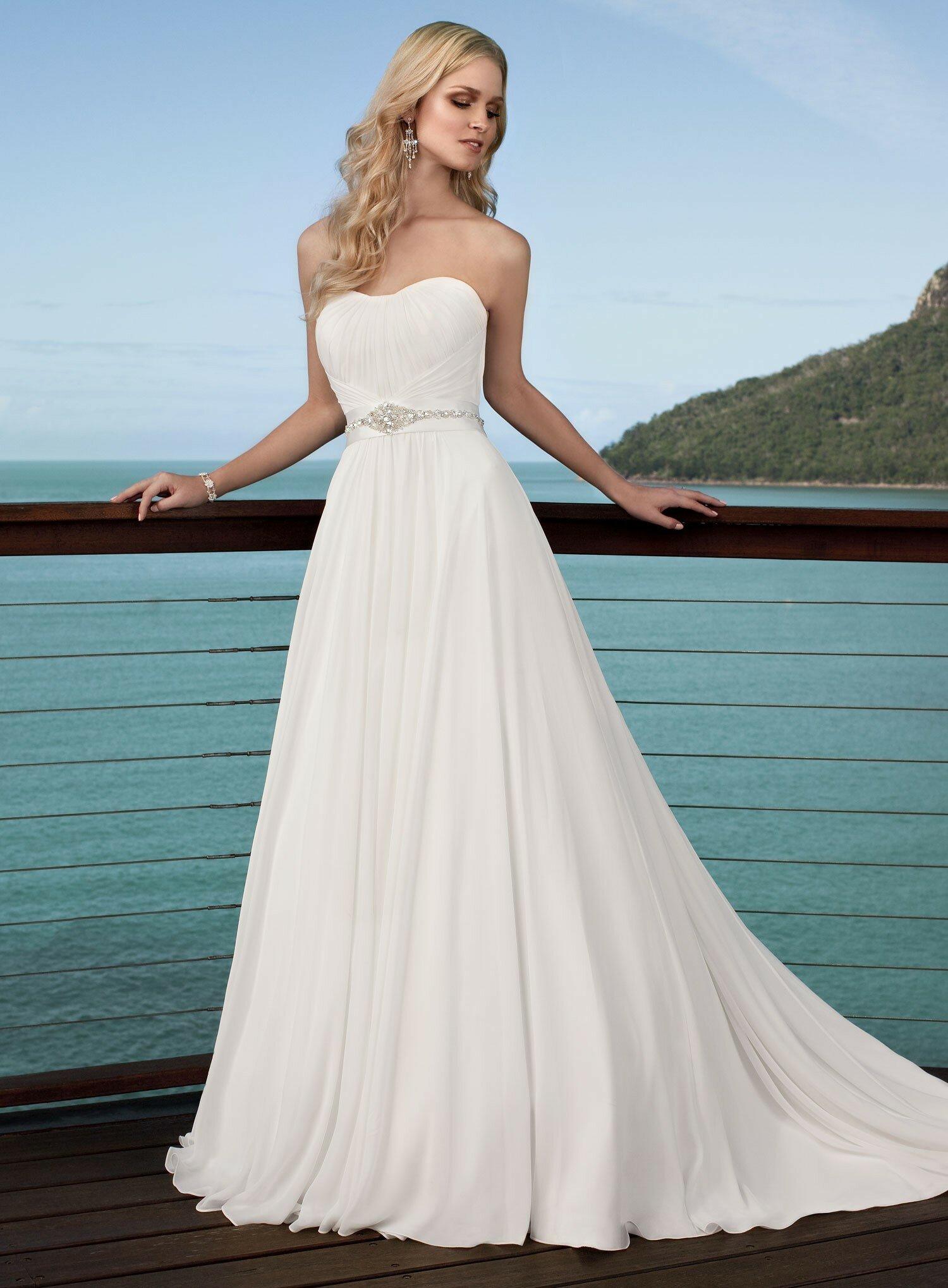 Nice Short Summer Wedding Dresses Cheap Crest - All Wedding Dresses ...