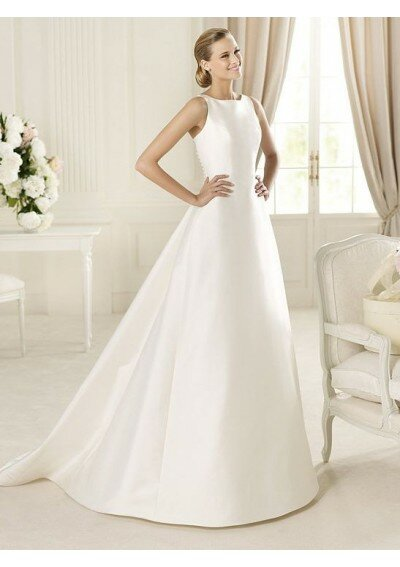 A line style wedding dresses Photo - 1
