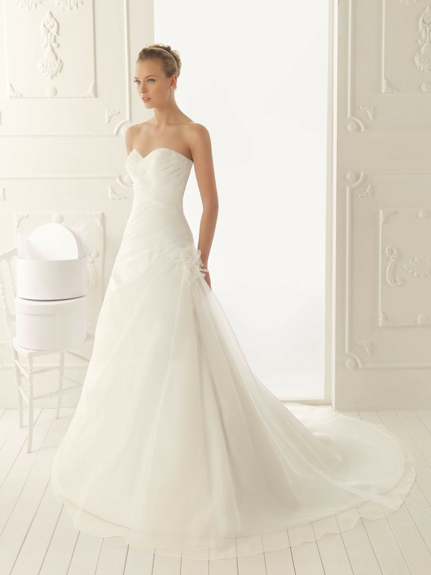 A line style wedding dresses Photo - 2