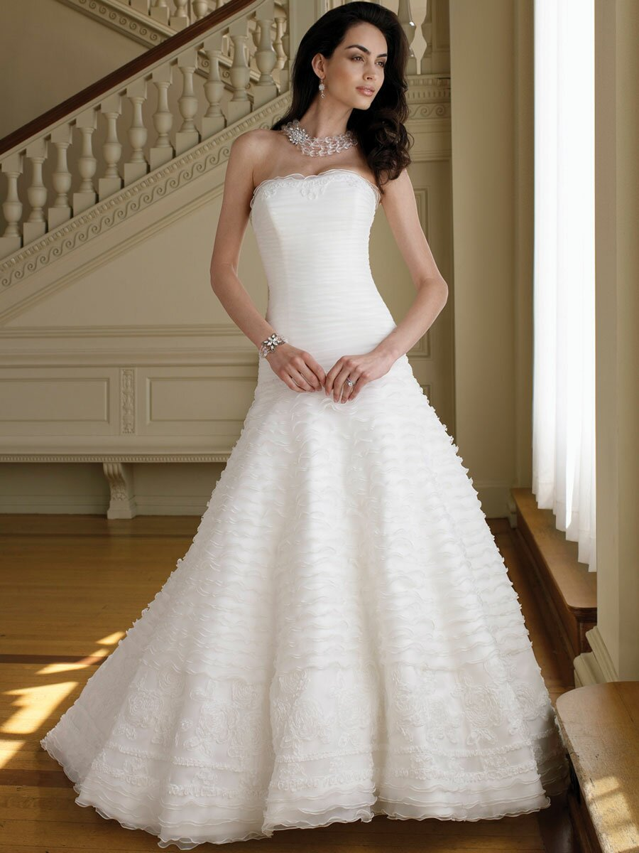 A line style wedding dresses Photo - 8