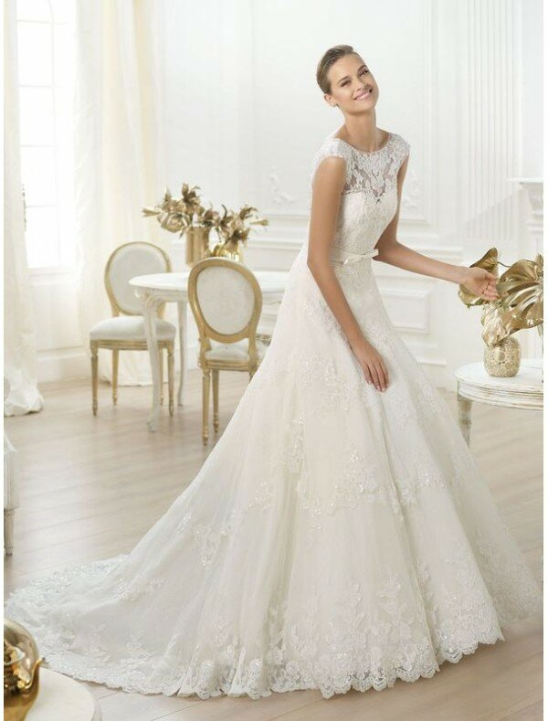Browse Wedding Dresses Line Wedding Dresses With Sleeves Photo 1 Browse Pictures And