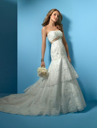 Alfred Angelo beach wedding dresses Photo - 10