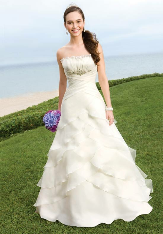 Alfred Angelo beach wedding dresses Photo - 1