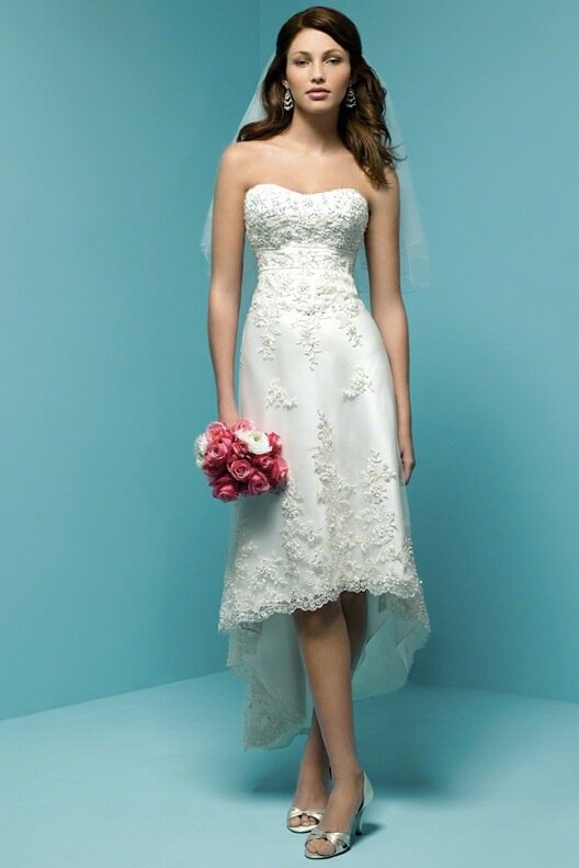 Alfred Angelo beach wedding dresses Photo - 3