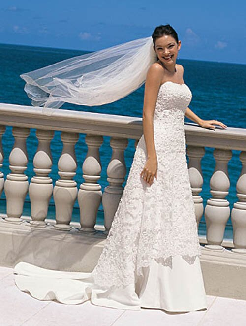 Alfred Angelo beach wedding dresses Photo - 5