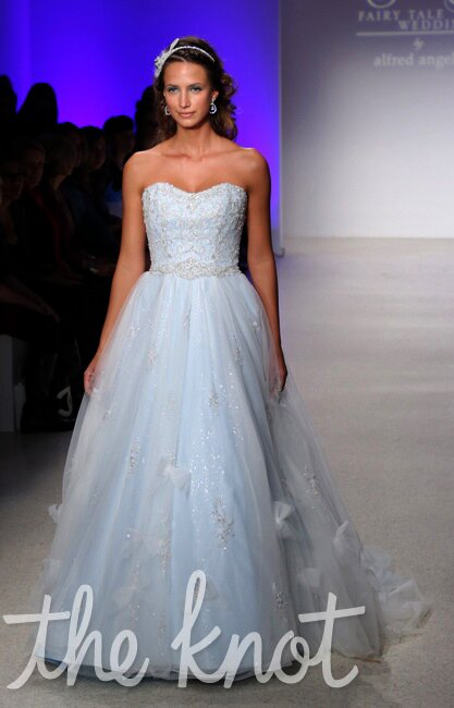 Alfred angelo blue wedding dresses Photo - 8