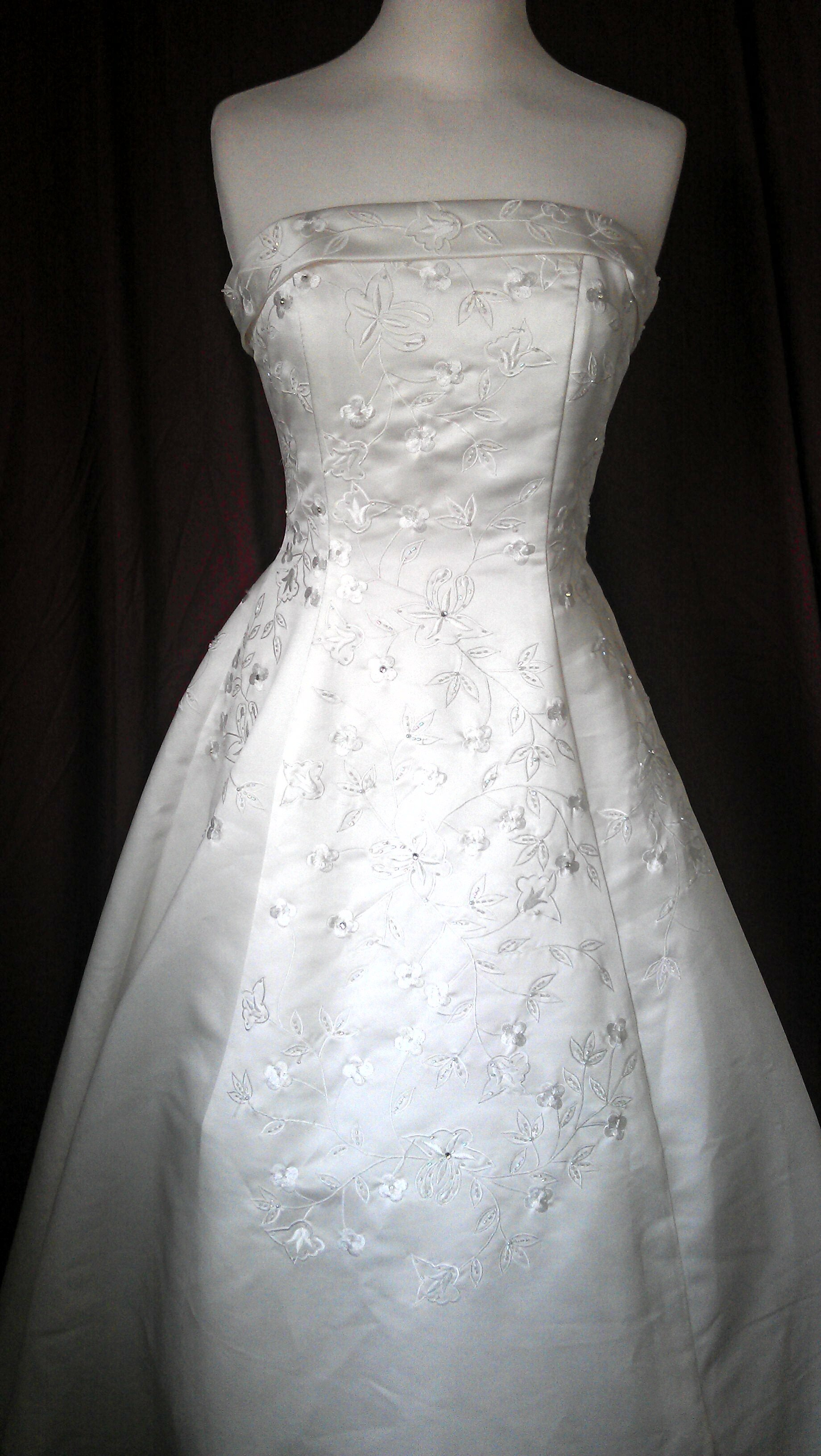 Clearance white dresses wedding dresses cheap wedding for All white wedding dress