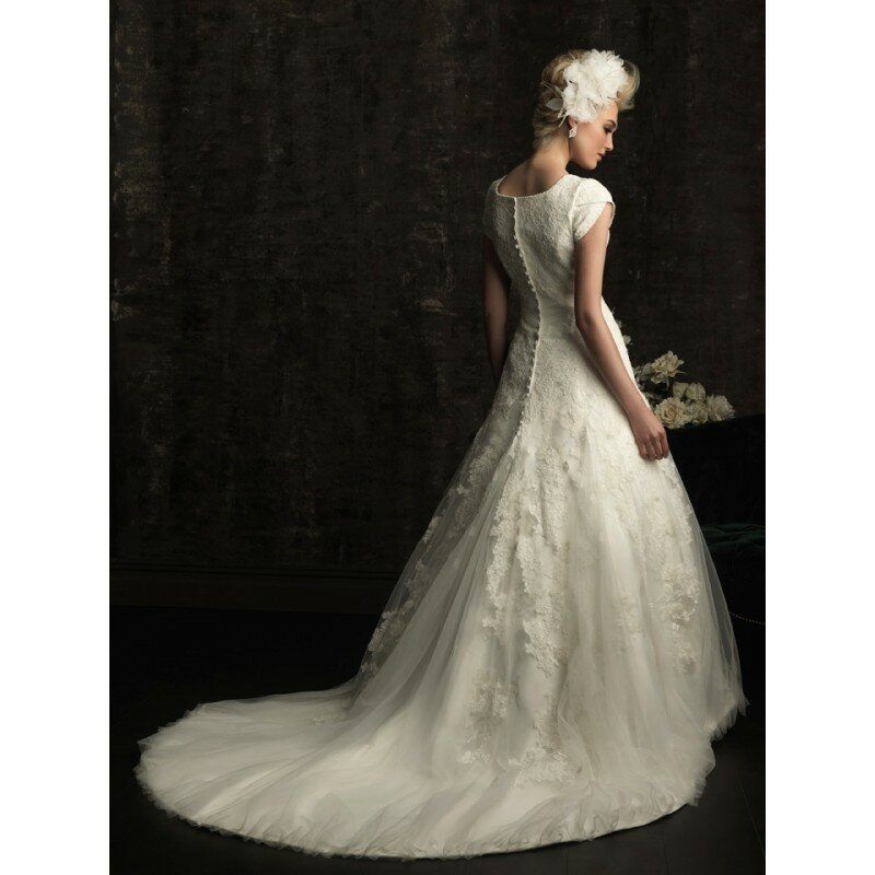 Allure modest wedding dresses: Pictures ideas, Guide to buying ...