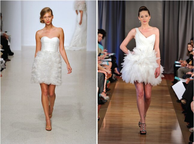 Amsale Short Wedding Dresses Pictures Ideas Guide To Buying