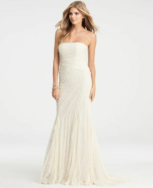 Ann taylor jasmine lace wedding dresses pictures ideas guide to ann taylor jasmine lace wedding dresses photo 3 junglespirit Image collections