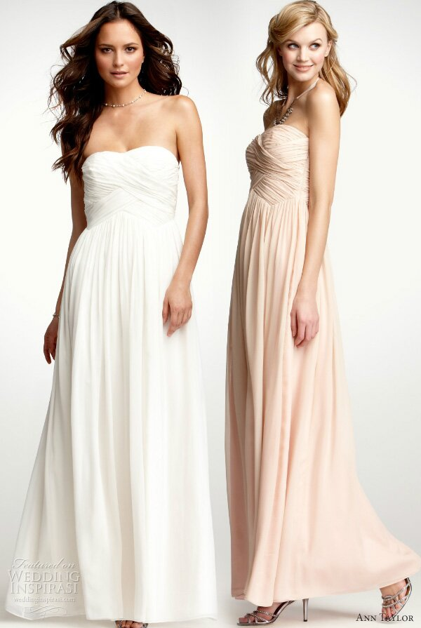 Ann Taylor loft wedding dresses Photo - 4