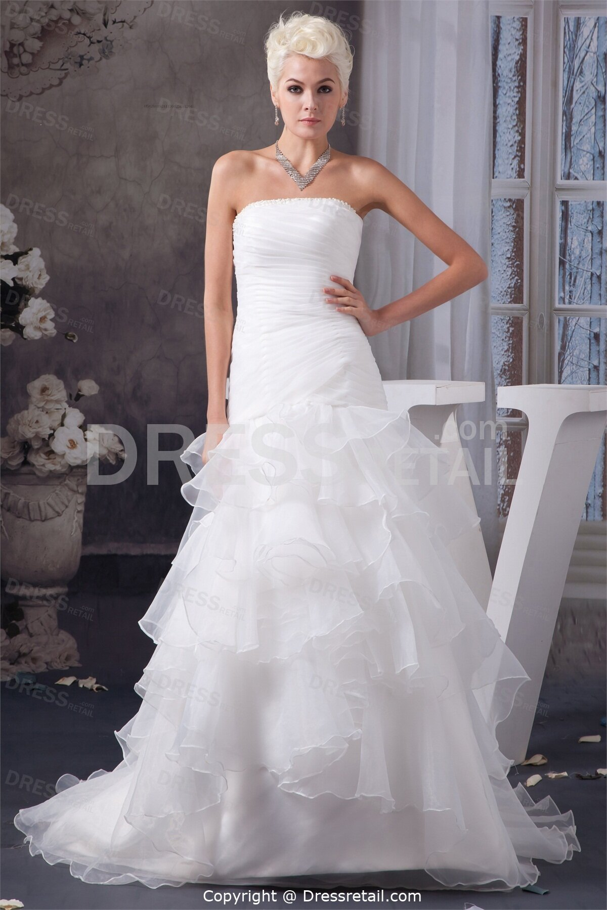Beautiful white wedding dresses pictures ideas guide to for Wedding dresses that are white