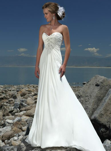 Best wedding dresses for short brides: Pictures ideas, Guide to ...