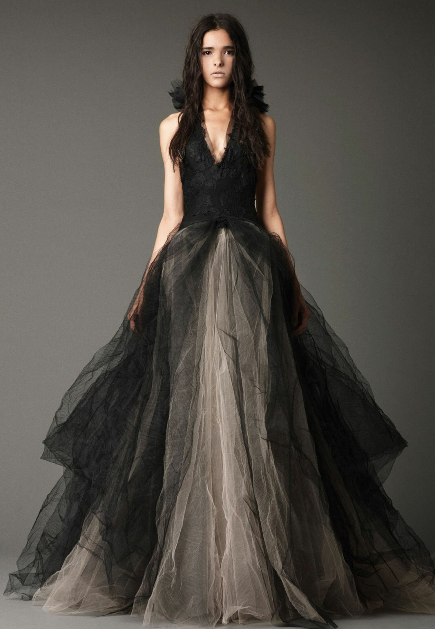 Black wedding dresses Vera Wang: Pictures ideas, Guide to buying ...