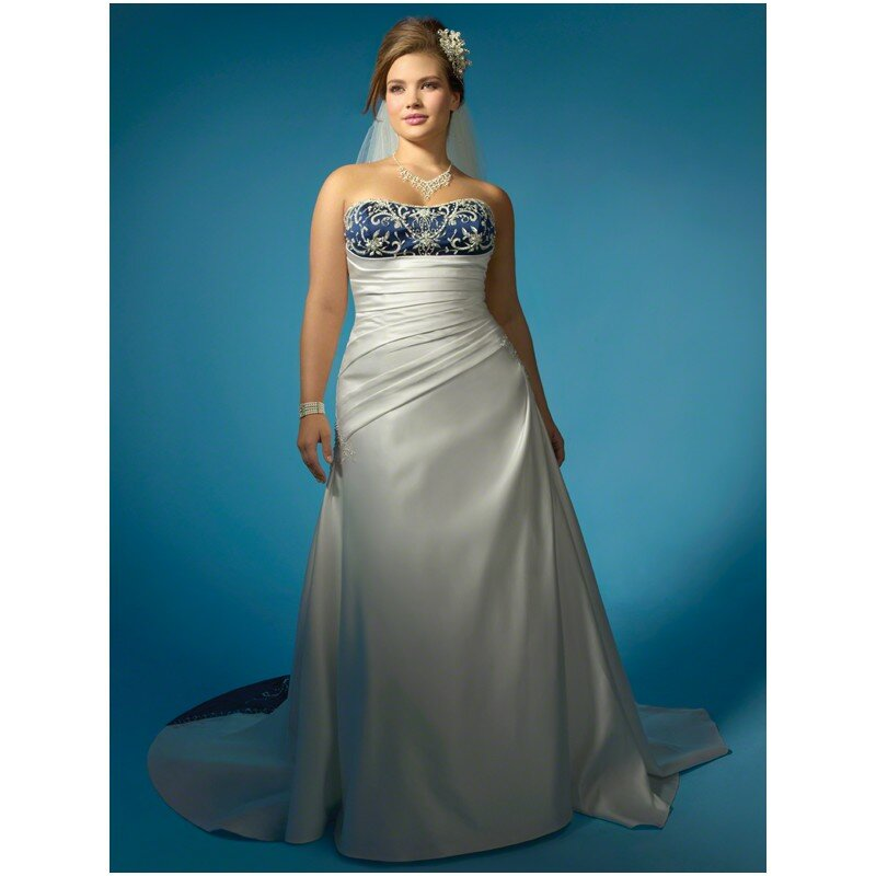 Blue plus size wedding dresses: Pictures ideas, Guide to buying ...