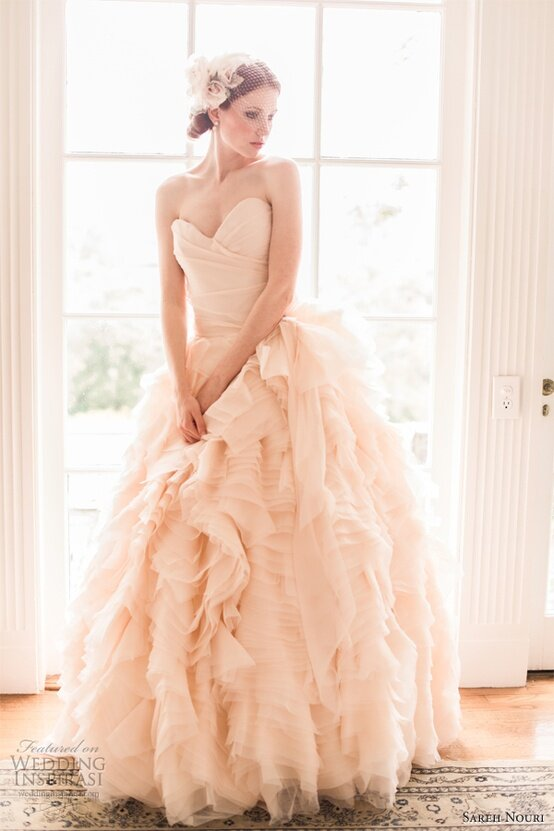 Blush wedding dresses Photo - 1