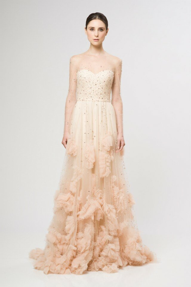 Blush wedding dresses Photo - 5