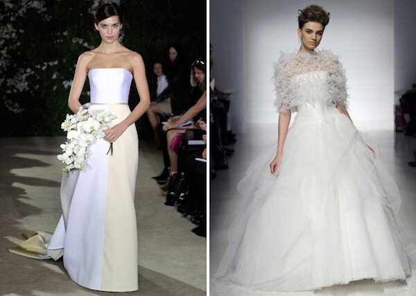 Carolina Herrera Short Wedding Dresses Pictures Ideas