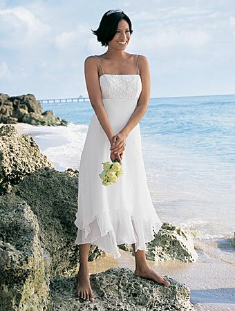 d005b3bfd7e Casual short beach wedding dresses  Pictures ideas