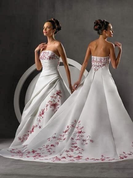 Cherry blossom wedding dresses: Pictures ideas, Guide to buying ...