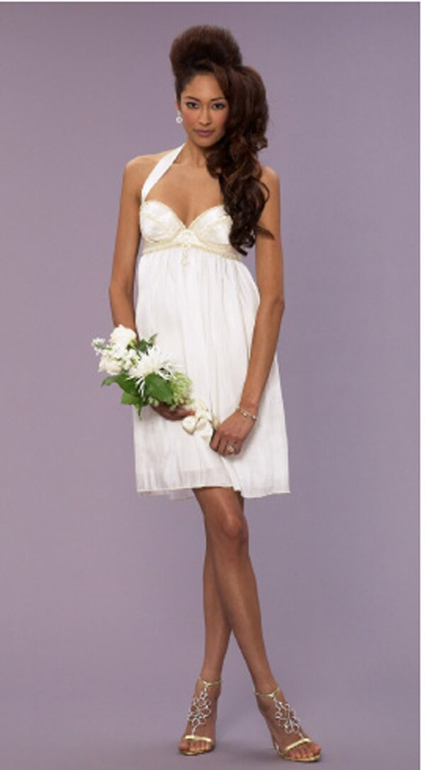 Cute summer wedding dresses great ideas for fashion for Dress for a spring wedding