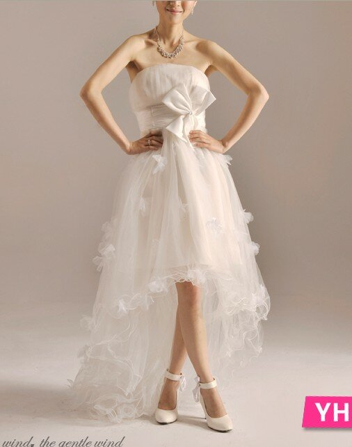 Cute simple wedding dresses Photo - 1