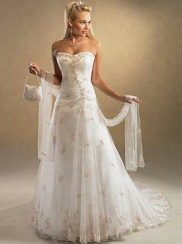 Cute simple wedding dresses Photo - 10