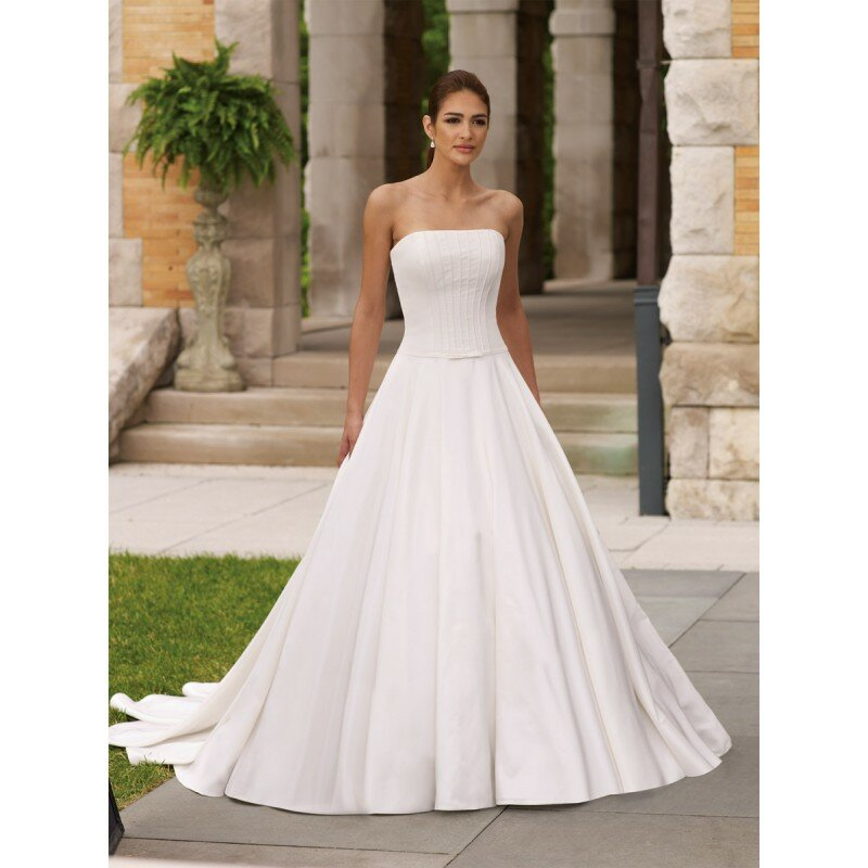 Cute simple wedding dresses Photo - 7