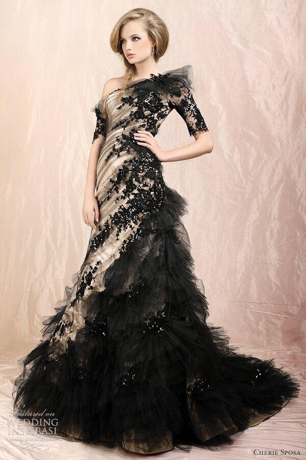 Dark Wedding Dresses Photo 3