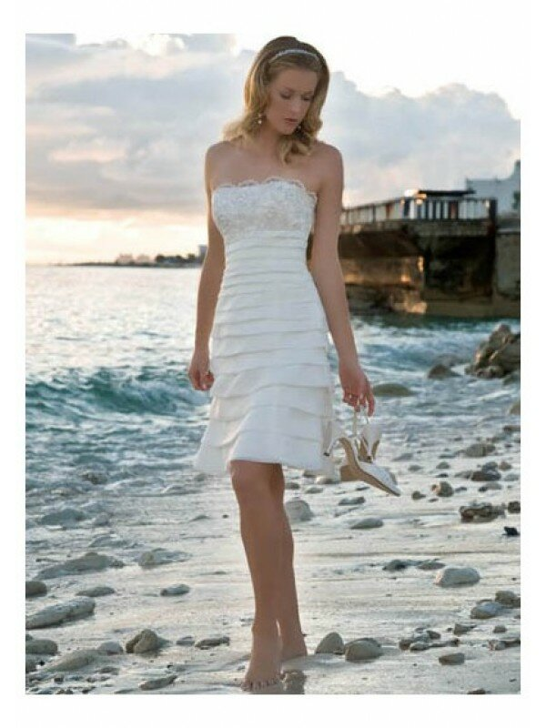 Elegant short wedding dresses: Pictures ideas, Guide to buying ...