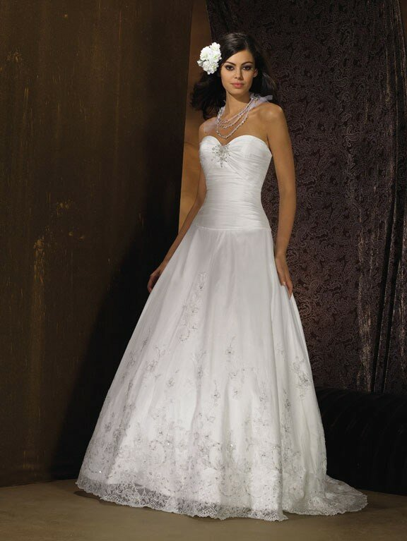 Fitted lace wedding dresses pictures ideas guide to for Lace fitted wedding dress
