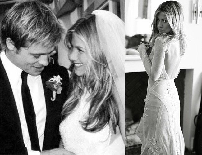 Jennifer Aniston wedding dresses brad pitt: Pictures ideas ...
