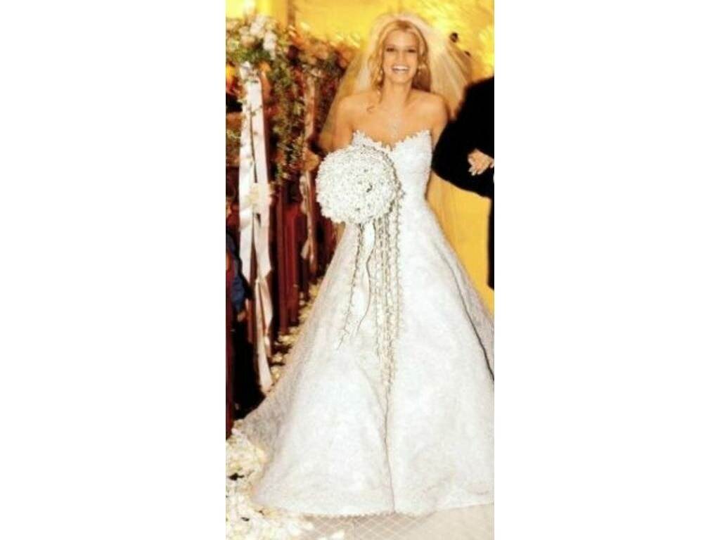 Jessica Simpson Vera Wang wedding dresses: Pictures ideas, Guide ...