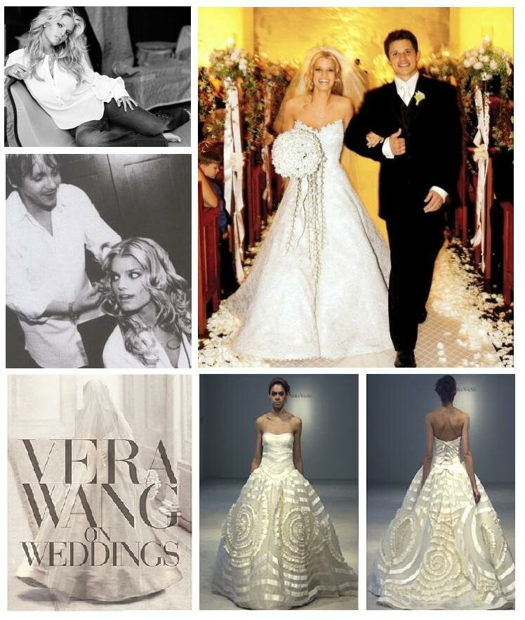 Jessica Simpson Vera Wang wedding dresses: Pictures ideas, Guide to ...