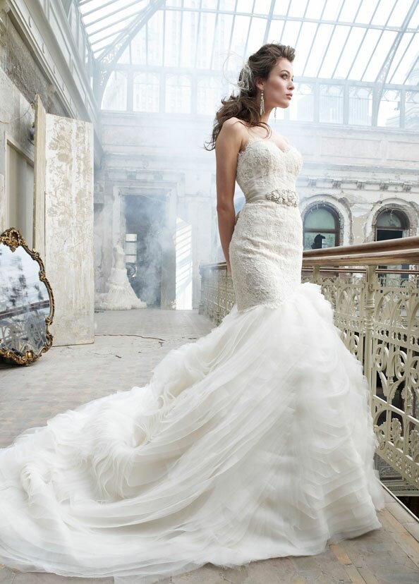 Lazaro Lace wedding dresses: Pictures ideas, Guide to buying ...