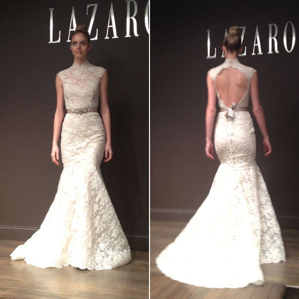 Lazaro Lace wedding dresses Photo - 10