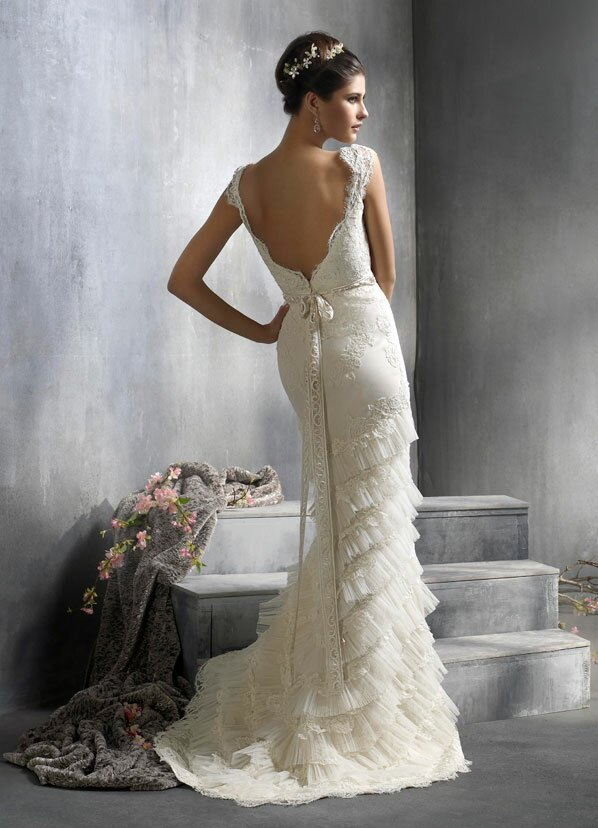 Lazaro Lace wedding dresses Photo - 1