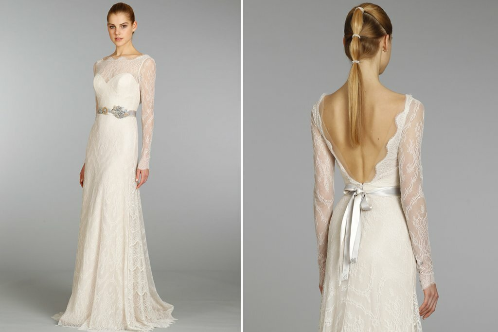 Lazaro Lace wedding dresses Photo - 2