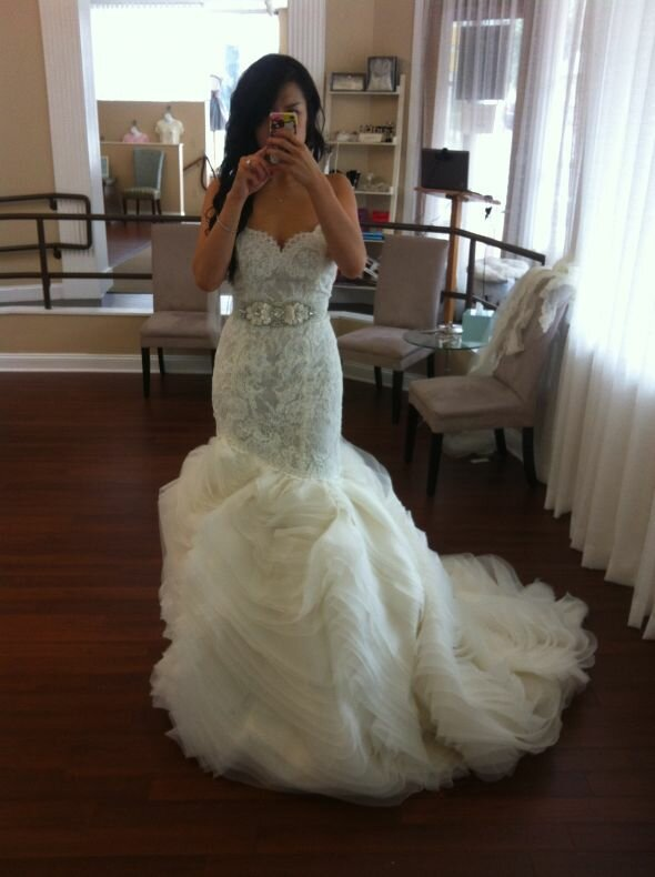 Lazaro Lace wedding dresses Photo - 8