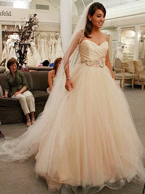 Change Your Style Look For Something New Yourselves Lazaro Sherbet Wedding Dresses